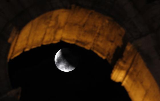 Roma, en El Coliseo.  Foto: Agencias