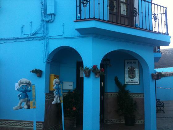 Comienza la promoción de la película 'Los pitufos 3D'.   Foto: Javier Flores