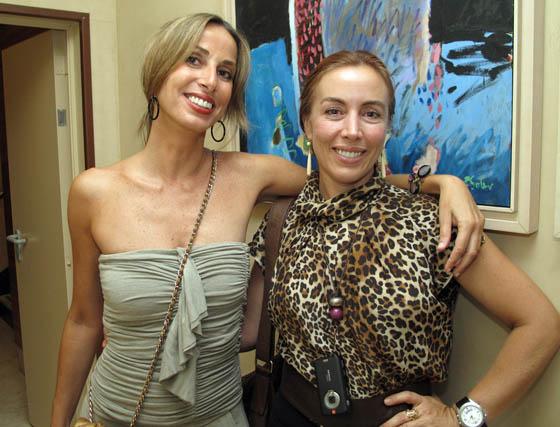 Antonia Yanes Moreno y Ana Gavira Crespillo.  Foto: Victoria Ramírez