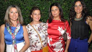 Marisa Bernal, Isabel Naranjo, María Teresa Bernal y Rocío Fernández.  Foto: Victoria Ramírez