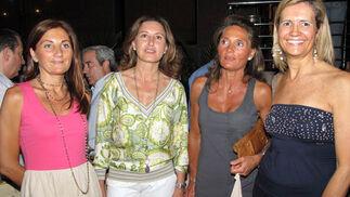 Elena Delgado, Marian Ros, Marisol Delgado y Maite González.  Foto: Victoria Ramírez