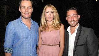 José Hernández, Lucrecia Canas y Pablo García.  Foto: Victoria Ramírez