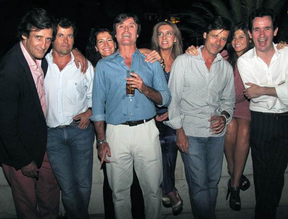 Emilio Moeckel, Juan Ternero, Inma Cambil, Ana Alonso, Marga Papalardo, Peter Suárez y Nono del Barco  Foto: Victoria Ramírez