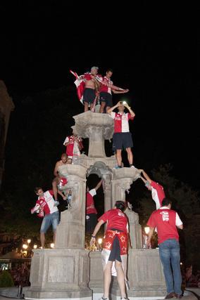 La ciudad se entrega a los autores de la gesta de subir a Primera.  Foto: Ochando