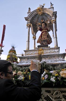 Procesión del Corpus.  Foto: Juan Carlos Vazquez