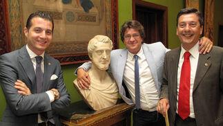 Los 'leones ' Fernando Porta, Raúl Lancharro y Javier Carnerero.  Foto: Victoria Ramírez