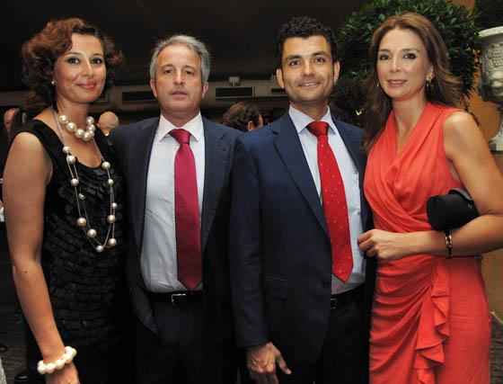 María Luisa Martinez Gil; Miguel Ángel Merino, Luis Jurado y Ángeles Flores.  Foto: Victoria Ramírez