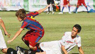 FC Barcelona-Sevilla  Foto: Joaquin Pino