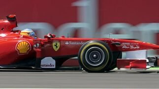 Fernando Alonso.  Foto: EFE