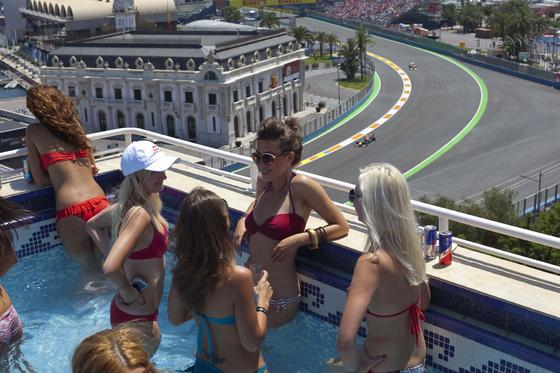 El Gran Premio de Europa.  Foto: EFE