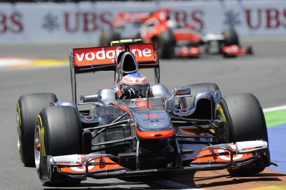 Jenson Button.  Foto: AFP Photo