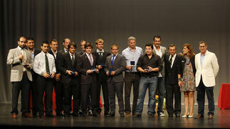 Imagen de todos los galardonados  Foto: Fito Carreto