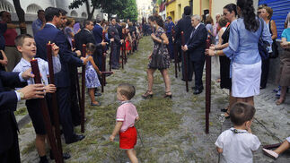 Celebración del Corpus Chico de Triana.  Foto: Juan Carlos Vázquez