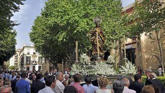 La Magdalena acoge su tradicional y magestuoso Corpus Christi.  Foto: Manuel Gómez