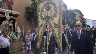 Procesión del Corpus en el barrio de San Vicente.  Foto: Manuel Gómez