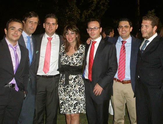 José María Galán (AJ), Emilio Moeckel, Eusebio Santisteban Macarena Pérez y Carlos Javier García (master de AJ) y los abogados Daniel Cordero y David González (PJ.1 & PJ.2).