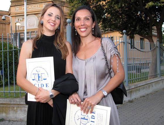 María Paz Quesada y María Ortega Escote (PJ1).  Foto: Victoria Ramírez