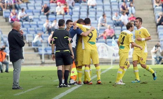 El Recreativo cierra la temporada con una derrota ante el Cartagena.  Foto: Josue Correa