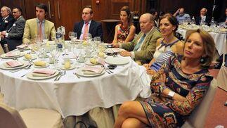 Antonio Pretel, José Manuel Uceda, María Laffite, Luis Carlos Peris, Victoria Herrera y Pilar Serrano Moya.  Foto: Victoria Hidalgo / Juan Carlos Vazquez