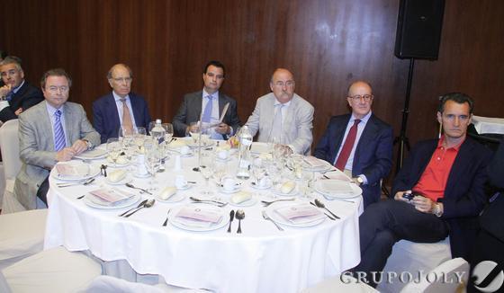 Miguel Jiménez, Antonio Frade, Francisco José Fernández, Salvador Jorquera, Germán Ayora y José Ignacio Carbajosa.  Foto: Victoria Hidalgo / Juan Carlos Vazquez