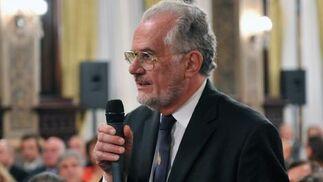 Agnelo Azzi, presidente de la Unión Internacional de Bioquímica.  Foto: Juan Carlos Vazquez/Victoria Hidalgo