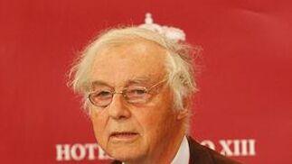 Robert Hurber, Nobel de Química en 1988.  Foto: Juan Carlos Vazquez/Victoria Hidalgo