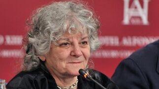 Ada Yonath, Nobel de Química en 2009.  Foto: Juan Carlos Vazquez/Victoria Hidalgo