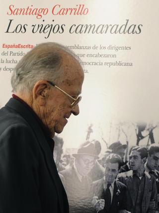 Santiago Carrillo en la presentación de uno de sus libros.  Foto: Efe/Afp photo/Reuters