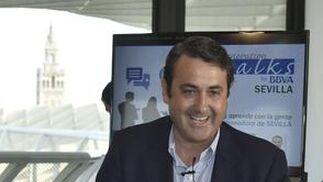 Guillermo Maturana, director de Zona Sevilla de BBVA.  Foto: Juan Carlos Vázquez