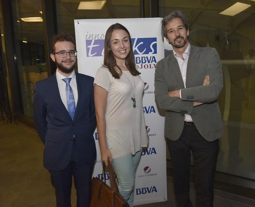 Juan Ángel Pérez, Luisa Barba y Esteban Roche.  Foto: Juan Carlos Vázquez