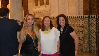 Ruth Crespo, Pili Jiménez y Toñi Gordito, coincidieron en la fiesta.  Foto: Ignacio Casas de Ciria