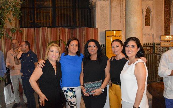 Reyes Rebollar, Natalia Melero, Marisa Delgado y Gema Navas.  Foto: Ignacio Casas de Ciria
