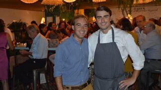 Los propietarios Juan Carlos Romero-Haupold y Pablo Terrón.   Foto: Ignacio Casas de Ciria