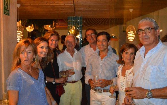 Macarena Ramírez, Susana Luna, Maren Rietz, Ramón Goenechea, Fernando Romero, Isabel Pérez y José Manuel Chaves.  Foto: Ignacio Casas de Ciria