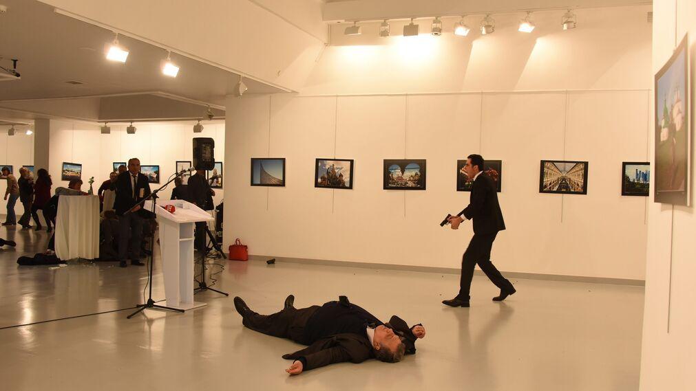 Asesinato del embajador ruso en Turquía EFE