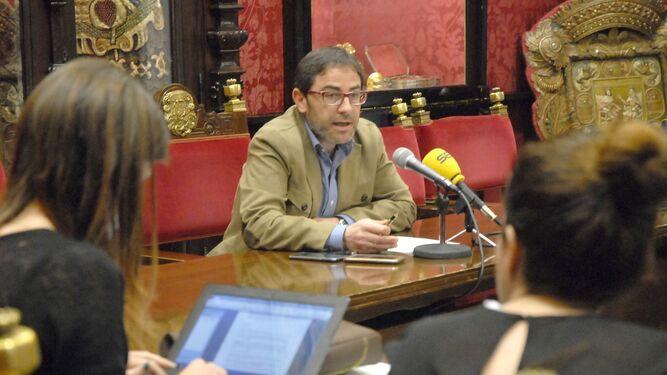 Miguel Ángel Fernández Madrid explicó ayer novedades de la auditoría.