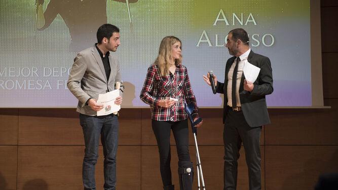 Ana Alonso, promesa femenina.