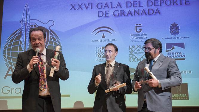 Antonio Barragán, Víctor Romero y Carlos Landa recuerdan el accidente.