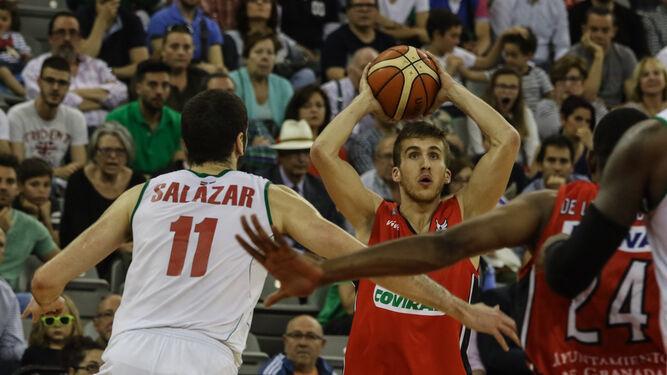 Jorge Lafuente ha demostrado una rápida adaptación a su nuevo equipo.