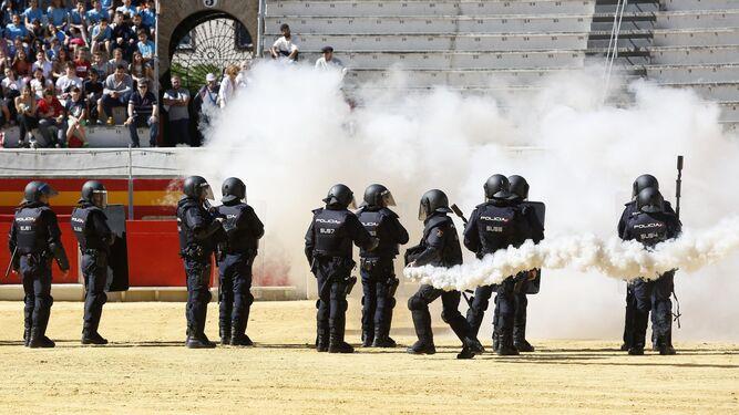 Una masterclass de seguridad policial