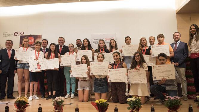 Jornada de nervios. Los finalistas de Granada, Almería y Jaén mantuvieron su ilusión hasta el último momento. Recibieron los distintos premios y diplomas y además leyeron en público sus relatos.