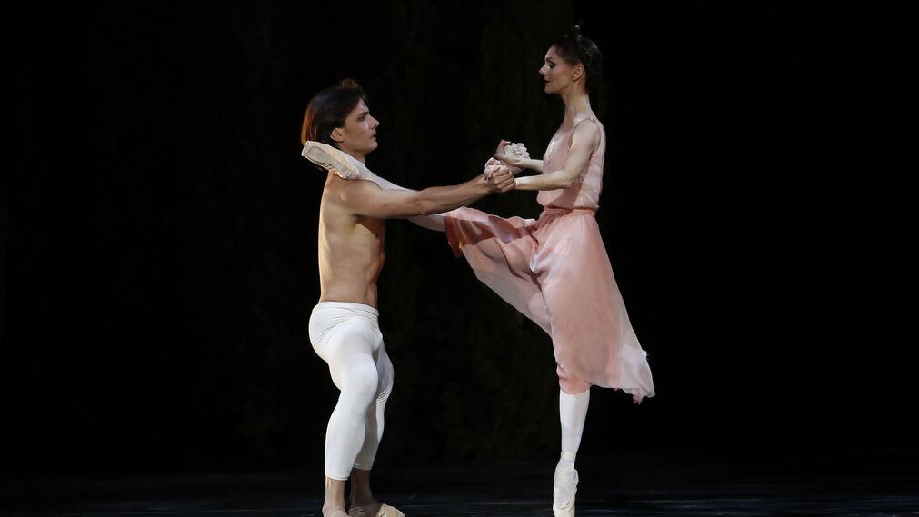 Noche de Roland Petit con el Ballet del Teatro di San Carlo en el Generalife