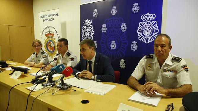La operación Plantaciones 2017 ha sido coordinada por la brigada de Policía Judicial y la brigada de Seguridad Ciudadana de Granada.