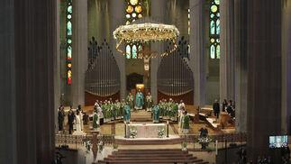 Misa por las víctimas en la Sagrada Familia