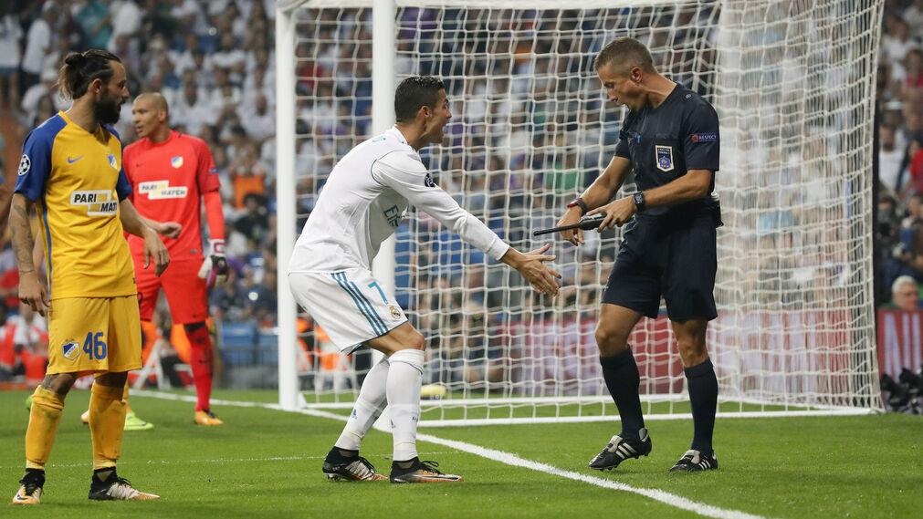 El Real Madrid-Apoel Nicosia