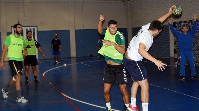 Imagen del último entrenamiento de la semana antes de debutar.