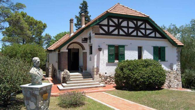 Imagen de la casa Los Espinillos Museo Manuel de Falla, en Alta Gracia.