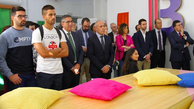 La UGR estrena su propio centro de 'coworking' para emprendedores