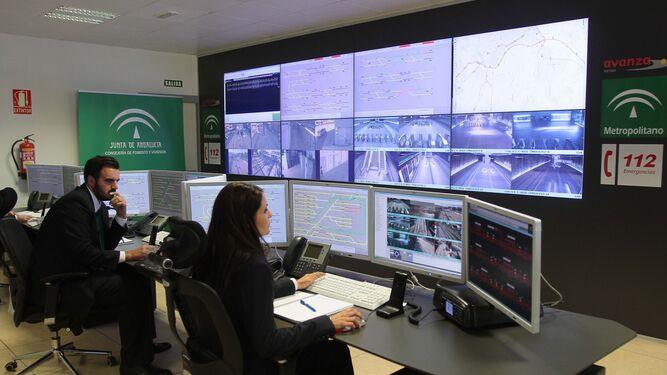 Las imágenes se ven en tiempo real para controlar todo el trayecto.