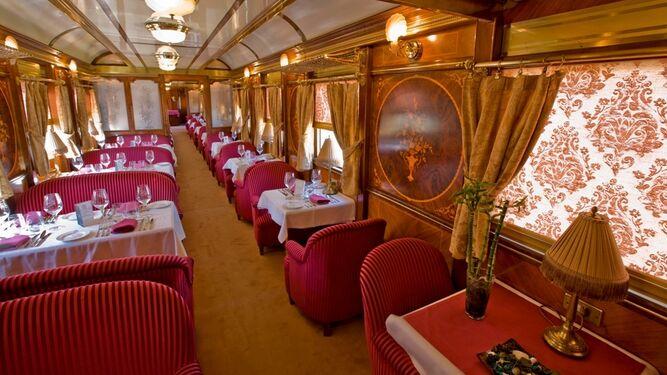 Sus salones son joyas ferroviarias de los años veinte.